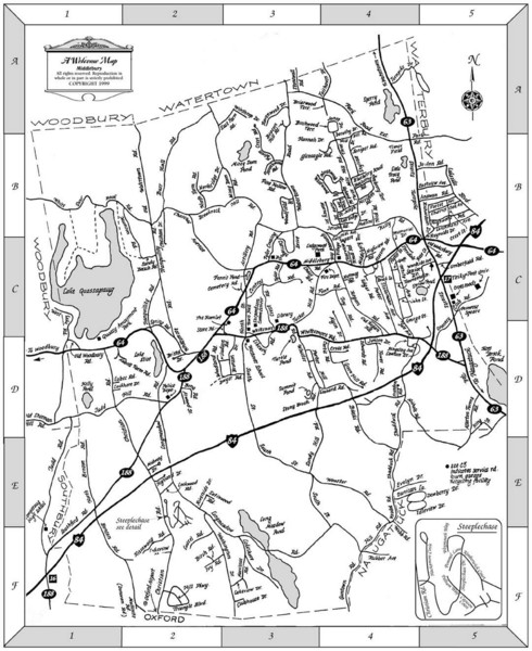 Middlebury Connecticut Map - MIddlebury CT • mappery