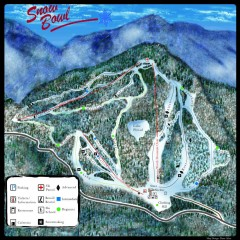 Middlebury Snow Bowl Ski Trail map