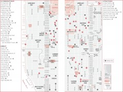 Midtown Manhattan, New York Map
