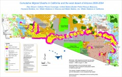 Migrant Deaths along US Border - California and...