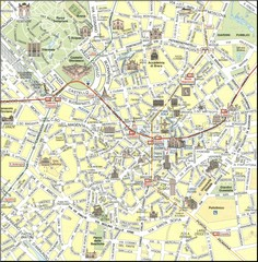 Milan Center Map