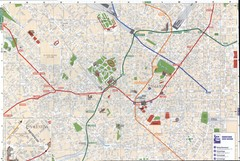 Milan downtown Map