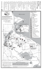 Mile Lacs Kathio State Park Summer Map
