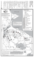 Mile Lacs Kathio State Park Winter Map