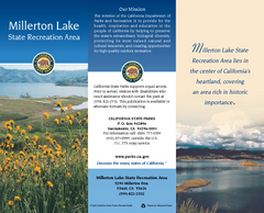 Millerton Lake State Recreation Area Map