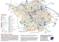 Milton Keynes Region Tourist Map
