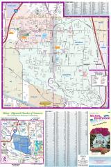Milton and Edgewood tourist map