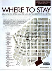 Minneapolis Hotel Map
