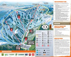 Mission Ridge Ski Trail Map