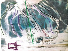 Mission Ridge Winter Park Ski Trail Map