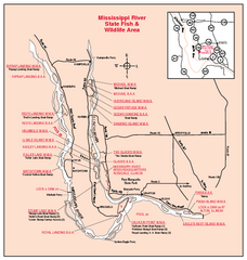 Mississippi River, Illinois Site Map