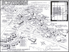 Missouri Southern State University Map