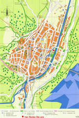 Mittenwald Tourist Map