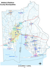 Mobile County Map