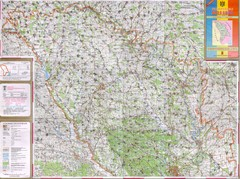 Moldova Topographical Map - North