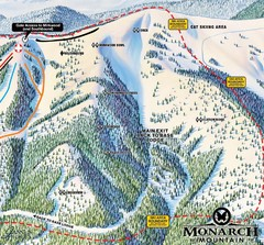 Monarch Ski & Snowboard Area Mirkwood at Monarch...