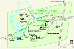 Monocacy National Battlefield Official Map