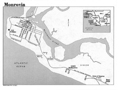 Monrovia Overview Map