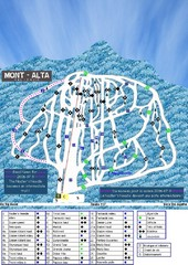 Mont Alta Ski Trail Map