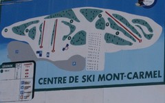 Mont Carmel Ski Trail Map