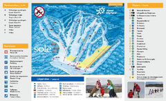 Mont Olympia Ski Trail Map