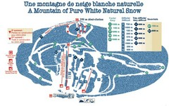 Mont Restigouche Ski Trail Map