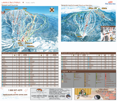 Mont-Sainte-Anne Ski Trail Map