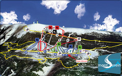 Mont Serein Ski Trail Map