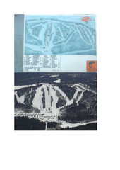 Mont Video Ski Trail Map