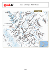 Mont Vinson Map