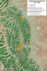 Montana Mountain Range Map