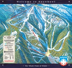 Montana Snowbowl Ski Trail Map