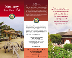 Monterey State Historic Park Map