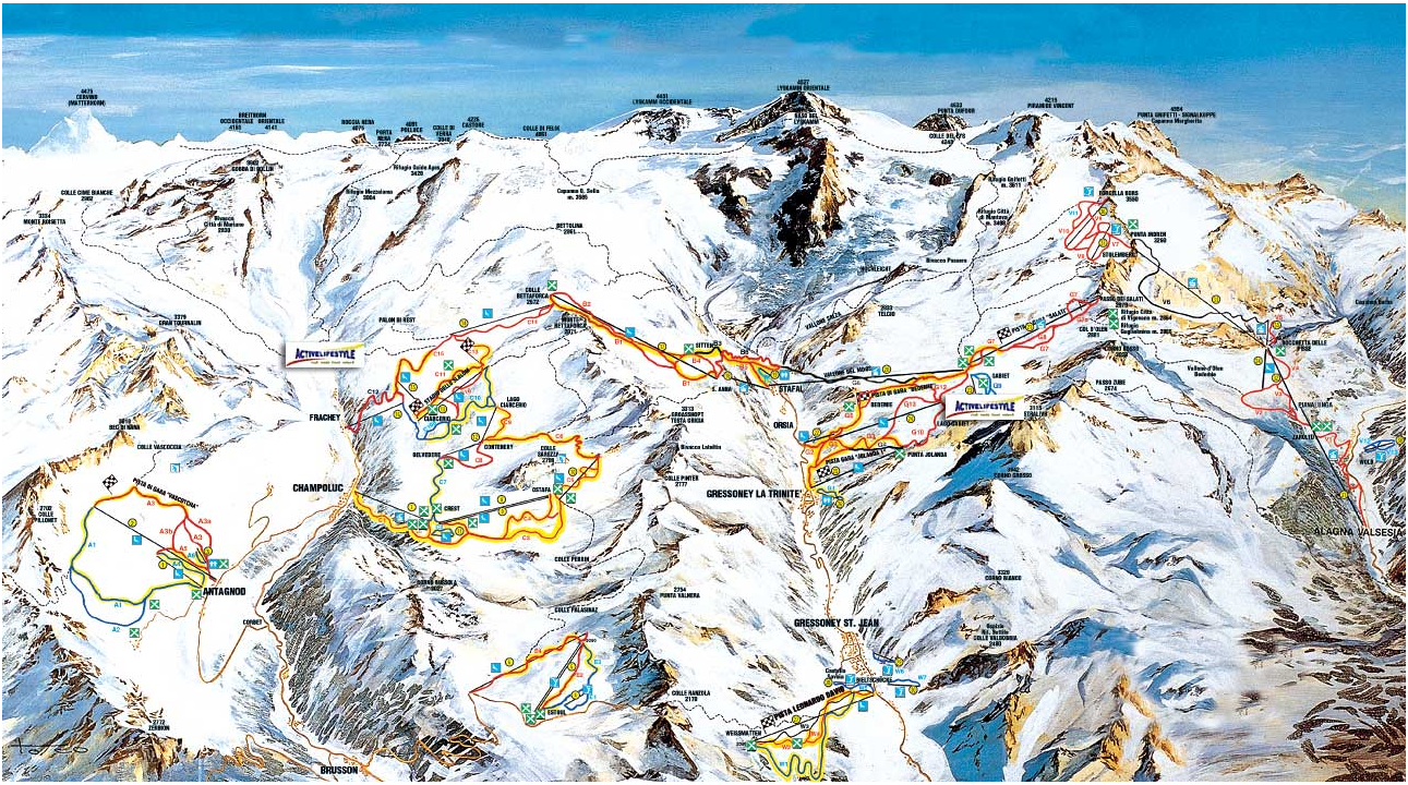 Ski Holidays to Italys Aosta Valley From 569 Fully Inc inducedinfo