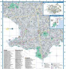 Montevideo Tourist Map