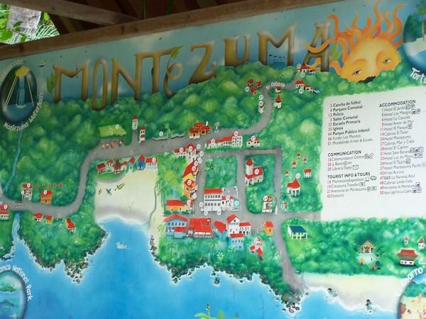 Montezuma Tourist Map Montezuma Costa Rica mappery – Tourist Map Of Costa Rica
