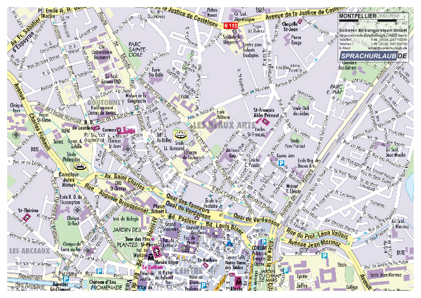 Montpellier Tourist Map Montpellier Paris mappery – Paris Tourist Map Pdf