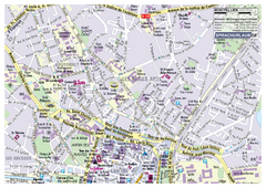 Montpellier Tourist Map