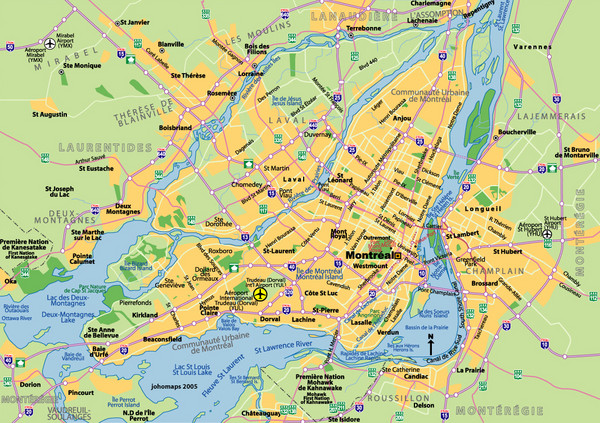 Montreal Tourist Map Montreal mappery – Tourist Map Of Quebec City