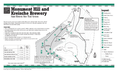 Monument Hill, Texas State Park Trail Map