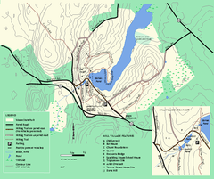 Moore State Park trail map
