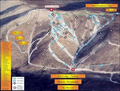 Moose Mountain Ski Trail Map