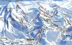 Morzine Morzine Ski Trail Map