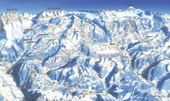 Morzine Ski Trail Map