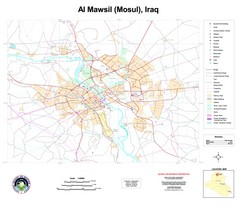 Mosul Overview Map