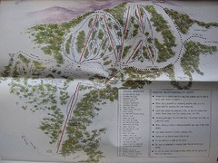 Mount Baw Baw Ski Trail Map
