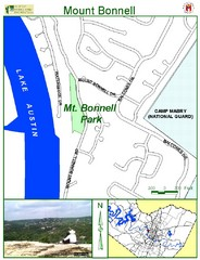 Mount Bonnell Park Map