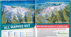Mount Buller Ski Trail Map