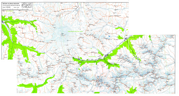 maps of russia mountains. View LocationView Map
