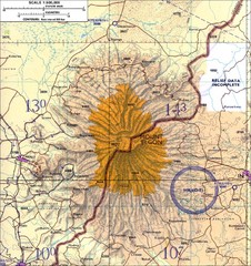 Mount Elgon topo. Map